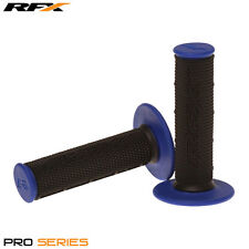 Rfx de doble densidad Grips soft-mid compuesto Negro Azul Motocross Enduro