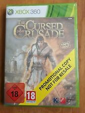 Xbox 360 The Cursed Crusade- promotional copy -NEW/SEALED
