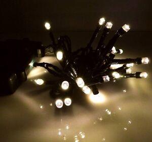 LED Lichterkette Batterie mit Timer outdoor außen innen kaltweiß warmweiß 24-192