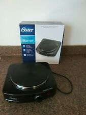 OSTER kitchen burner Hotplate Black Solid Single