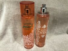 2 Bath & Body Works 8 oz Fragrance Mist * Georgia Peach and Pretty as a Peach