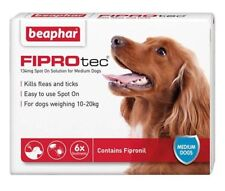 Beaphar FIPROtec Spot on Medium Dog 134mg X 6