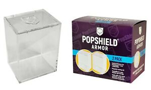 Popshield Armor Hard Protect Funko Pop Protector  2 Pack IN STOCK Pop shield