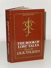 1st Stampa The Book Of Lost Tales Parte II Jrr Tolkien Allen Unwin 1984 UK Hb