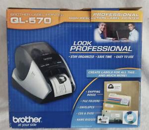 Brother QL-570 Label Printer Professional High Resolution • Brand New