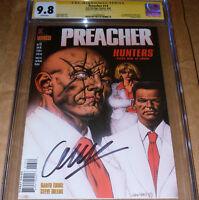 Preacher #13 CGC SS 9.8 SIGNED Garth Ennis 1st Herr Starr AMC TV Vertigo DC 1996