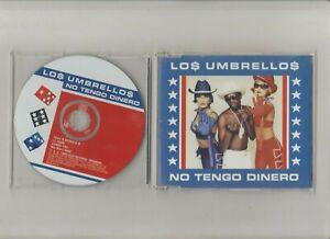Los Umbrellos / No Tengo Dinero - Maxi CD