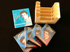 ELVIS PRESLEY HIS GREATEST HITS AUSTRALIAN 4 X CASSETTE TAPE BOX SET WITH BOOK