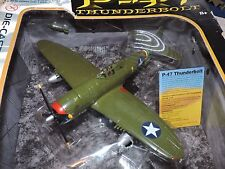 MOTOR MAX 1/48th SCALE P-47 THUNDERBOLT  DIE CAST MODEL # 76316