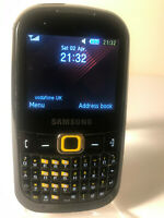 Samsung GT B3210 Genio Qwerty - Black Yellow (Unlocked) Mobile Phone QWERTY