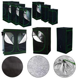 Growbox Gewächshaus Indoor Pflanzenzelt Zuchtzelt Growroom Zuchtschrank Darkroom