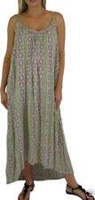 Regular Size Rayon Geometric Dresses for Women