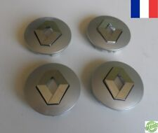 4 centres de roue RENAULT SCENIC 57 mm caches moyeu jante  LOGO EMBLEME NEUF