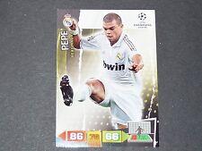 PEPE PORTUGAL REAL MADRID UEFA PANINI FOOTBALL CARD CHAMPIONS LEAGUE 2011 2012