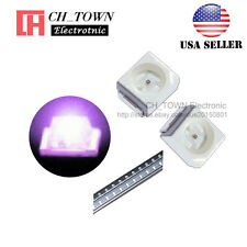 100PCS 1210 (3528) Purple/UV Light PLCC-2 SMD SMT LED Diodes Ultra violet USA
