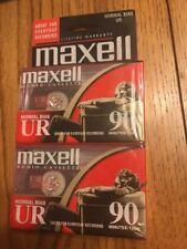 Maxell UR 90 Blank Audio Cassette Tape 2 Pack Maxell UR90 Recording