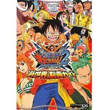 "ONE PIECE Gigant Battle 2 Shinsekai ""Shinsekai"" Seiha Guide book / DS"
