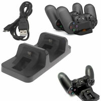Dual Charging Dock Game Accessories For Playstation 4 PS4 Wireless Controller