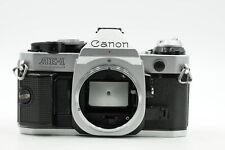 Canon AE-1 Program SLR Film Camera Body AE1 Chrome #495