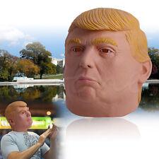 Donald Trump Halloween Mask Billionaire Presidential Costume Latex Cospaly