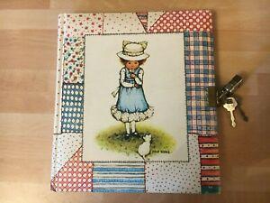 1970s Vintage Holly Hobbie Secret Diary Book Unused With Lock & Key