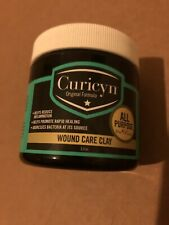 Curicyn Wound Care Clay Healing Inflammation Disease 4 Livestock 3.2oz Exp 2022