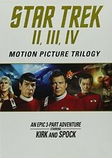 Star Trek: Motion Picture Trilogy II, III, IV [New DVD] 3 Pack, Dolby, Dubbed,