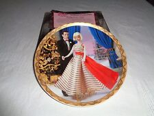 Enesco From Barbie With Love Holiday Dance 1965 Plate