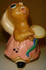"Pendelfin Made in England Rabbit ""Rosa"" Chalkware Great Britian"