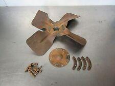 Farmall Cub IHC Fan Blade, Clamp Plates with Bolts. Original