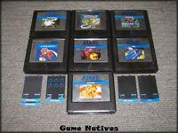 (7) Atari 5200 Cartridges Some With Manuals/Overlays - Centipede, Pac-Man, Qix