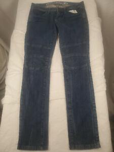 Converse One Star Denim Blue Jeans Women Size 8 Motocross