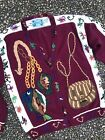 Vtg Hand Knit Fly Fishing Manly Outdoors Ugly Christmas Sweater L Holy Grail