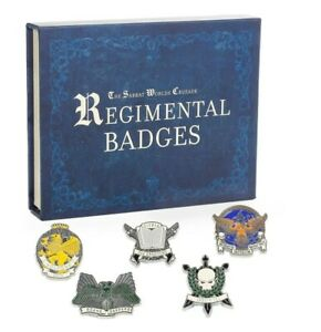 Limited Edition Regimental Badges Sabbat Crusade Black Library NEW