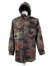 PARKA German Army Combat Jacket Hood Flecktarn Camo All Sizes Grade 1 Supergrade