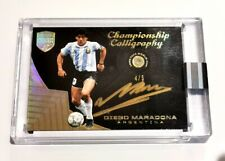 Maradona auto Panini Eminence Soccer Messi flawless auto Cristiano Ronaldo
