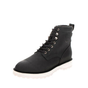 RRP €220 DIEMME FIRENZE Nubuck Leather Combat Boots EU44 UK10 US11 Made in Italy