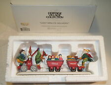 Dept 56 North Pole LAST MINUTE DELIVERY Accessory # 56367 Elf Train 35.00 price