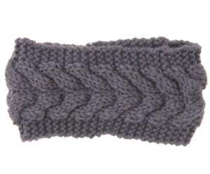 Knitted Braids Wide Headband Head Wrap Elastic Wool Ear Hairband Turban UK