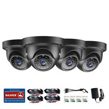 SANNCE CCTV Dome 1080P Camera Home Surveillance Security System IP66 IR Cut UK