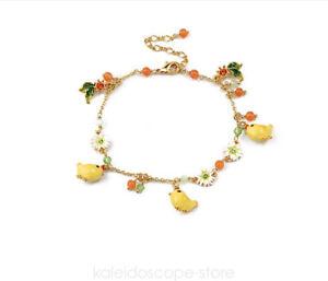 Les nereides yellow chicken Bracelet US