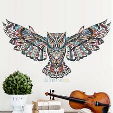 Owl Living Room Bedroom Background Wall Sticker Removable Vinyl Decal Art Mural