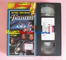 film VHS cartonata IL TAGLIAERBE Pierce Brosnan PANORAMA 1992  ( F12 * ) no dvd