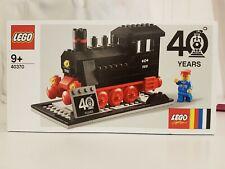 LEGO 40370 Dampflokomotive 40 Jahre Eisenbahn GWP exklusiv Neu-ovp