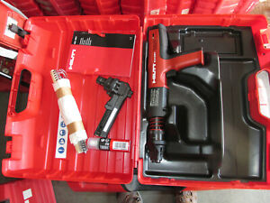Hilti DX 351 MX & ME  Powder Actuated Tool, mx32 & f8  attachment  kit NEW (949)