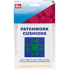 Prym Schablonen - Set für 10 Muster Patchwork mit Anleitung 611147