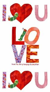 The Very Hungry Caterpillar 'I Love You' Panel