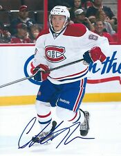 Christian THOMAS Signed Montreal CANADIENS 8x10 Photo