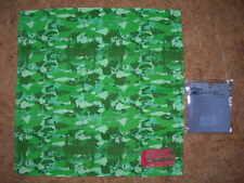 bandana / Foulard femme  OAKLEY -VERT plusieurs nuances - 51 x 51 cm-100% coton