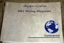 2001 LINCOLN CONTINENTAL ELECTRICAL WIRING DIAGRAMS FACTORY MANUAL